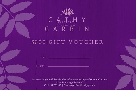 Cathy Garbin gift voucher